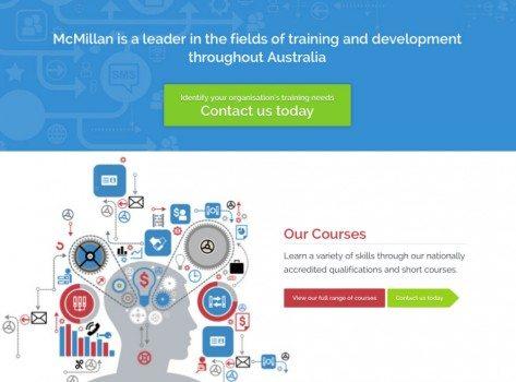 McMillan Staff Development website client