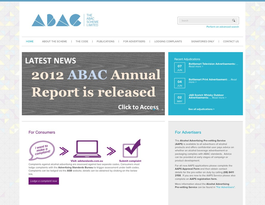 The ABAC Scheme Limited