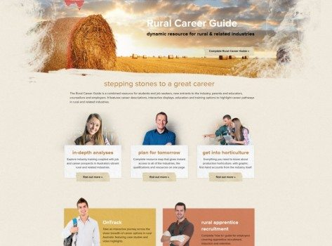 Rural Careers website screenshot